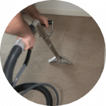 Book 3 Rooms of Carpet Cleaning + 2 Hours One Off Cleaning for $195 Only