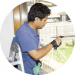 hourly and window cleaning deal